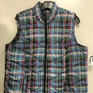 Primary Photo - BRAND: HANNAH STYLE: VEST DOWN COLOR: PLAID SIZE: XL SKU: 313-31344-20731