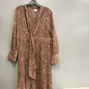 Primary Photo - BRAND: A NEW DAY STYLE: DRESS LONG LONG SLEEVE COLOR: PINKBROWN SIZE: M SKU: 313-31344-16759