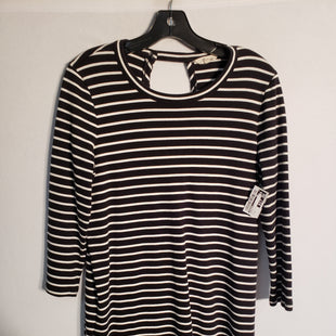 Primary Photo - BRAND: MADEWELL STYLE: DRESS SHORT LONG SLEEVE COLOR: STRIPED SIZE: M SKU: 313-31344-10063