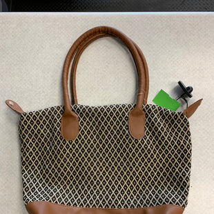 Primary Photo - BRAND:    CLOTHES MENTOR STYLE: HANDBAG COLOR: BROWN SIZE: LARGE OTHER INFO: CM - SKU: 313-31349-4989