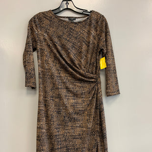Primary Photo - BRAND: TALBOTS STYLE: DRESS SHORT LONG SLEEVE COLOR: BROWN SIZE: PETITE   SMALL SKU: 313-31344-18831