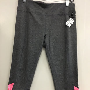 Primary Photo - BRAND: CALVIN KLEIN PERFORMANCE STYLE: ATHLETIC CAPRIS COLOR: PINKGRAY SIZE: L SKU: 313-31344-19560