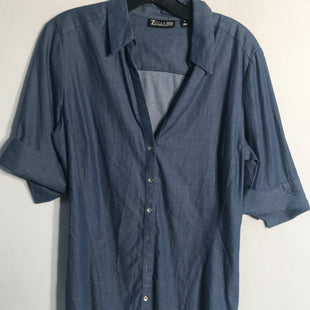 Primary Photo - BRAND: NEW YORK AND CO STYLE: TOP SHORT SLEEVE COLOR: BLUE SIZE: M SKU: 313-31328-28600