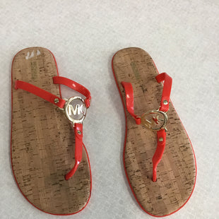 Primary Photo - BRAND: MICHAEL BY MICHAEL KORS STYLE: SANDALS FLAT COLOR: RED SIZE: 11 SKU: 313-31332-11476