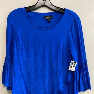 Primary Photo - BRAND: ALYX STYLE: TOP SHORT SLEEVE COLOR: ROYAL BLUE SIZE: S SKU: 313-31344-14519