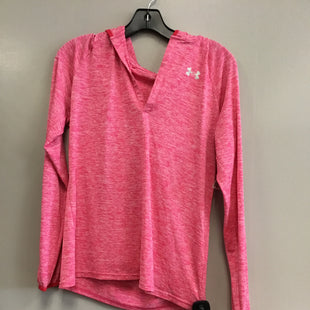 Primary Photo - BRAND: UNDER ARMOUR STYLE: ATHLETIC TOP COLOR: PINK SIZE: M SKU: 313-31332-8267