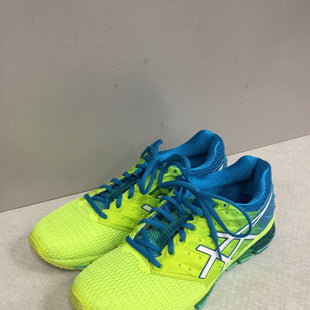 Primary Photo - BRAND: ASICS STYLE: SHOES ATHLETIC COLOR: NEON SIZE: 10 SKU: 313-31349-2719