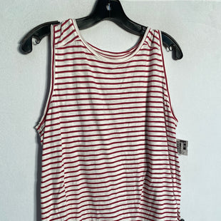 Primary Photo - BRAND: ANN TAYLOR LOFT STYLE: TANK TOP COLOR: STRIPED SIZE: XL SKU: 313-31344-16438