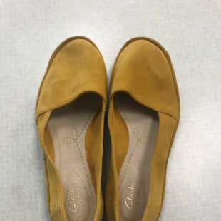 Primary Photo - BRAND: CLARKS STYLE: SHOES FLATS COLOR: YELLOW SIZE: 7.5 SKU: 313-31332-10734