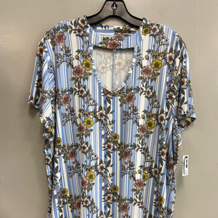 Primary Photo - BRAND: BOBBIE BROOKS STYLE: TOP SHORT SLEEVE COLOR: FLORAL SIZE: 3X SKU: 313-31332-9160
