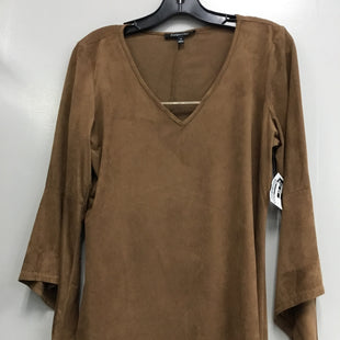 Primary Photo - BRAND: RELATIVITY STYLE: TOP LONG SLEEVE COLOR: BROWN SIZE: M SKU: 313-31349-365