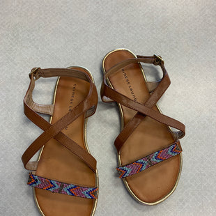 Primary Photo - BRAND: CHINESE LAUNDRY STYLE: SANDALS FLAT COLOR: MULTI SIZE: 9 SKU: 313-31350-357