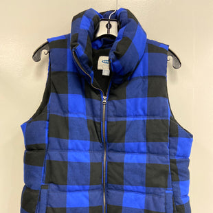Primary Photo - BRAND: OLD NAVY STYLE: VEST DOWN COLOR: PLAID SIZE: L SKU: 313-31344-18180