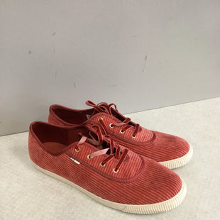 Primary Photo - BRAND: TOMS STYLE: SHOES FLATS COLOR: RED SIZE: 9 SKU: 313-31344-15010