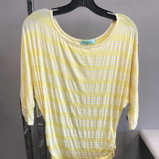Primary Photo - BRAND: CHRIS AND CAROL STYLE: TOP SHORT SLEEVE COLOR: YELLOW SIZE: S SKU: 313-31328-36034