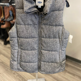 Primary Photo - BRAND: OLD NAVY STYLE: VEST DOWN COLOR: CHARCOAL SIZE: M SKU: 313-31344-14140