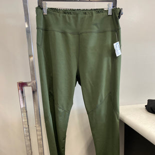 Primary Photo - BRAND:    CLOTHES MENTOR STYLE: ATHLETIC PANTS COLOR: GREEN SIZE: L OTHER INFO: THERAPY - SKU: 313-31332-10966