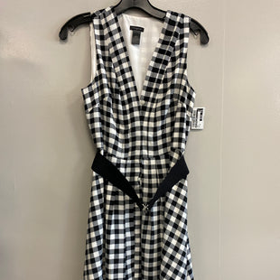 Primary Photo - BRAND: ANN TAYLOR LOFT STYLE: DRESS SHORT SLEEVELESS COLOR: PLAID SIZE: XS SKU: 313-31311-29262