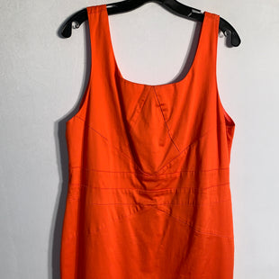 Primary Photo - BRAND: MICHAEL BY MICHAEL KORSSTYLE: DRESS SHORT SLEEVELESSCOLOR: ORANGESIZE: XLSKU: 313-31328-23421
