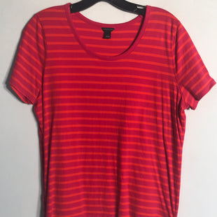 Primary Photo - BRAND: ANN TAYLOR STYLE: TOP SHORT SLEEVE BASIC COLOR: ORANGEPINK SIZE: L SKU: 313-31349-203