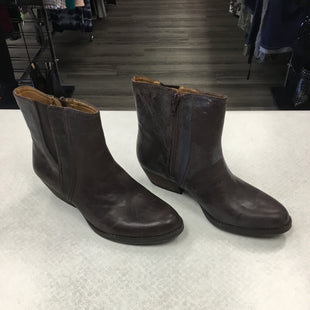 Primary Photo - BRAND: NINE WEST SHOES STYLE: BOOTS ANKLE COLOR: BROWN SIZE: 7 SKU: 313-31349-3214