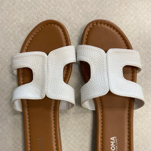 Primary Photo - BRAND: SONOMA STYLE: SANDALS FLAT COLOR: WHITE SIZE: 7.5 SKU: 313-31344-20889