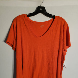Primary Photo - BRAND: ANN TAYLOR LOFT O STYLE: TOP SHORT SLEEVE BASIC COLOR: ORANGE SIZE: XL SKU: 313-31344-5613