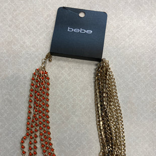 Primary Photo - BRAND: BEBE STYLE: NECKLACE COLOR: ORANGE SKU: 313-31332-9740