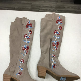 Primary Photo - BRAND: CARLOS SANTANA STYLE: BOOTS KNEE COLOR: FLORAL SIZE: 9 SKU: 313-31352-338