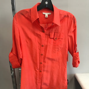 Primary Photo - BRAND: BANANA REPUBLIC STYLE: TOP SHORT SLEEVE COLOR: ORANGE SIZE: S SKU: 313-31328-35515