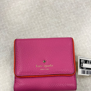 Primary Photo - BRAND: KATE SPADE STYLE: WALLET COLOR: PINK SIZE: SMALL SKU: 313-31344-17844