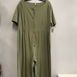 Primary Photo - BRAND:    CLOTHES MENTOR STYLE: DRESS LONG SHORT SLEEVE COLOR: GREEN SIZE: XL OTHER INFO: MISSLOOK - SKU: 313-31349-1009