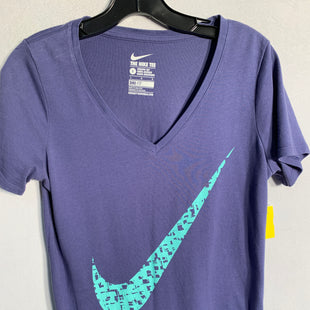 Primary Photo - BRAND: NIKESTYLE: ATHLETIC TOP SHORT SLEEVECOLOR: PURPLESIZE: LSKU: 313-31328-28225