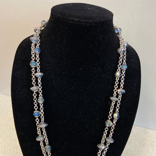 Primary Photo - BRAND:    CLOTHES MENTOR STYLE: NECKLACE COLOR: SLATE BLUE SKU: 313-31328-35217