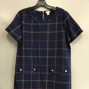 Primary Photo - BRAND: J CREW O STYLE: DRESS SHORT SHORT SLEEVE COLOR: NAVY SIZE: L SKU: 313-31344-17728