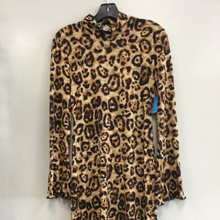 Primary Photo - BRAND: INC STYLE: DRESS SHORT LONG SLEEVE COLOR: ANIMAL PRINT SIZE: M SKU: 313-31318-11469