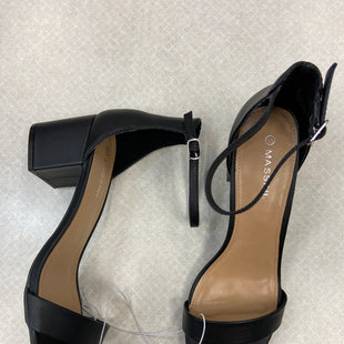 Primary Photo - BRAND: MASSINI STYLE: SHOES HIGH HEEL COLOR: BLACK SIZE: 11 SKU: 313-31349-2213