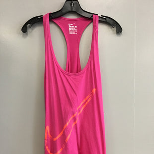 Primary Photo - BRAND: NIKE STYLE: ATHLETIC TANK TOP COLOR: HOT PINK SIZE: XL SKU: 313-31344-13301