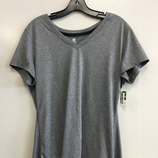 Primary Photo - BRAND: CHAMPION STYLE: ATHLETIC TOP SHORT SLEEVE COLOR: GREY SIZE: XL SKU: 313-31344-12305