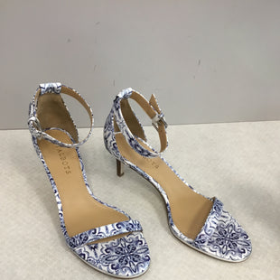Primary Photo - BRAND: TALBOTS STYLE: SHOES LOW HEEL COLOR: BLUE WHITE SIZE: 8.5 SKU: 313-31332-7856