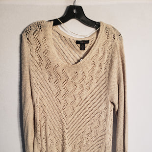 Primary Photo - BRAND: STYLE AND COMPANY STYLE: SWEATER LIGHTWEIGHT COLOR: TAN SIZE: XL SKU: 313-31328-30833