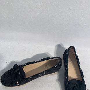 Primary Photo - BRAND: COACHSTYLE: SHOES FLATSCOLOR: BLACKSIZE: 6SKU: 313-31328-32720