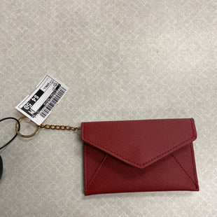 Primary Photo - BRAND:    CLOTHES MENTOR STYLE: WALLET COLOR: RED SIZE: SMALL OTHER INFO: CM - SKU: 313-31349-3427