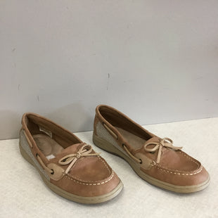 Primary Photo - BRAND:    CLOTHES MENTOR STYLE: SHOES FLATS COLOR: BROWN SIZE: 8 OTHER INFO: DEFLEX COMFORT - SKU: 313-31344-18720