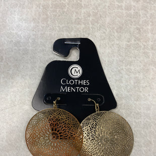 Primary Photo - BRAND:    CLOTHES MENTOR STYLE: EARRINGS COLOR: GOLD OTHER INFO: CM - SKU: 313-31349-2012