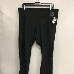 Primary Photo - BRAND: OLD NAVY STYLE: ATHLETIC CAPRIS COLOR: BLACK SIZE: 2X SKU: 313-31344-19996