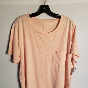 Primary Photo - BRAND: OLD NAVY STYLE: TOP SHORT SLEEVE BASIC COLOR: PEACH SIZE: XL SKU: 313-31311-23093