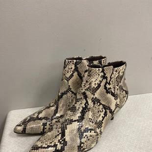 Primary Photo - BRAND: CLARKS STYLE: BOOTS ANKLE COLOR: SNAKESKIN PRINT SIZE: 7.5 SKU: 313-31332-9509