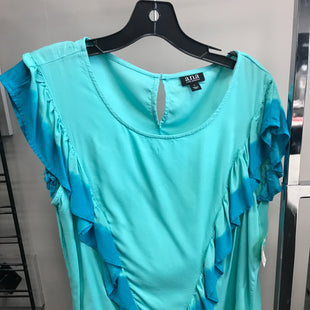 Primary Photo - BRAND: ANA STYLE: TOP SHORT SLEEVE COLOR: AQUA SIZE: L SKU: 313-31328-33045