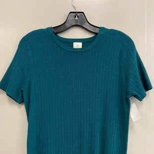Primary Photo - BRAND: A NEW DAY STYLE: TOP SHORT SLEEVE COLOR: TEAL SIZE: M SKU: 313-31344-15585